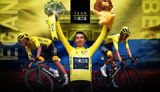 CampeON EGAN BERNAL